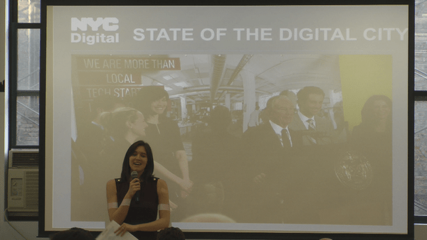 Rachel Haot, NYC's Chief Digital Officer, presents on the State of the Digital City.