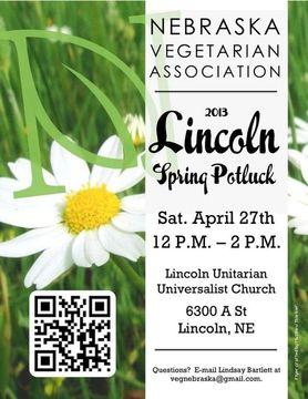 NVA 2013 Lincoln Spring Potluck Flyer