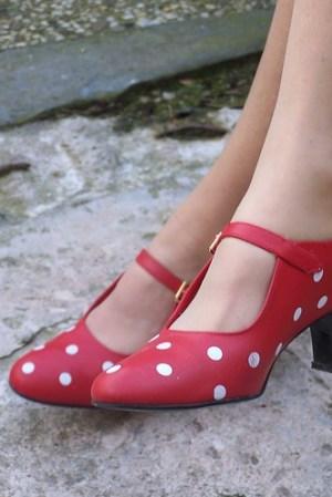 rode schoentjes