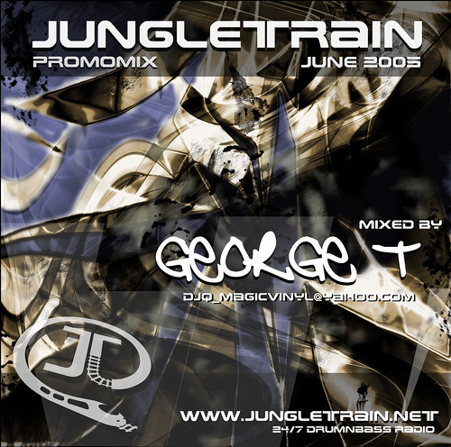 jungletrain.net promo mix cover art by XZ32