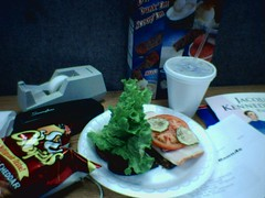 Sandwich made at work