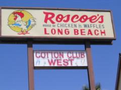 Roscoe signage