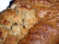 Banana Bread with Butterscotch Chips Crust | July 2005