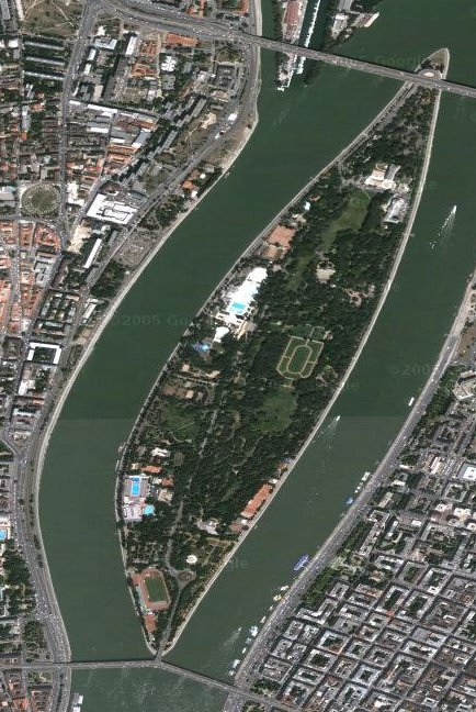 La Isla Margarita en medio del Danubio
