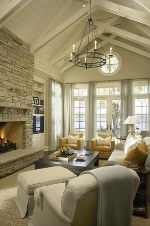 Living Room Stone Fireplace Design Ideas Amp Pictures Zillow Digs