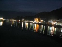 Dal lake in the night
