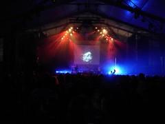 T.Raumschmiere live at the Pukkelpop festival