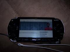 Bieberlabs on a PSP
