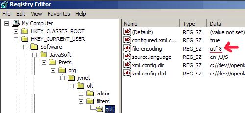 XLIFF Filters configuration