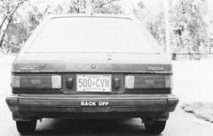 Mazda Back Off