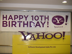 Happy 10th Birthday Yahoo!