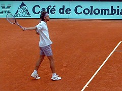 Jeg fotograferte Guga i French Open 2001!