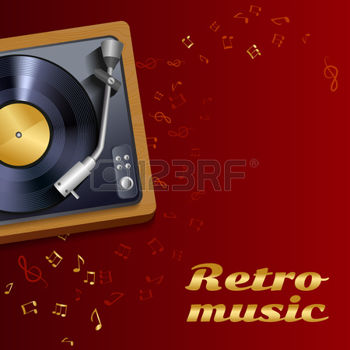 27595306-vintage-retro-vinyl-record-player-or-gramophone-poster-with-music-notes-and-treble-clef-background-v