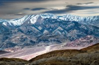 Blue Shadows Death Valley