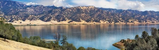 Lake Barryessa Panorama