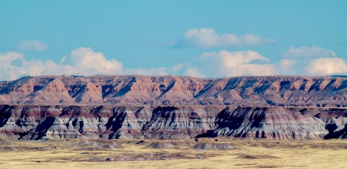 Painted Desert in a Vintage Sky