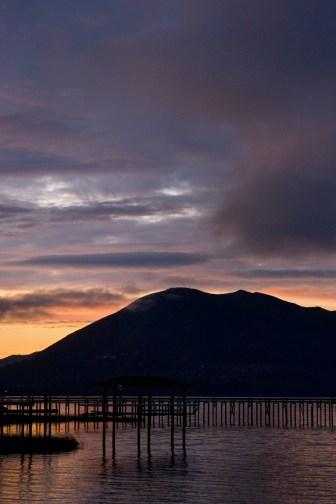 Clear Lake Sunrise, Vertical