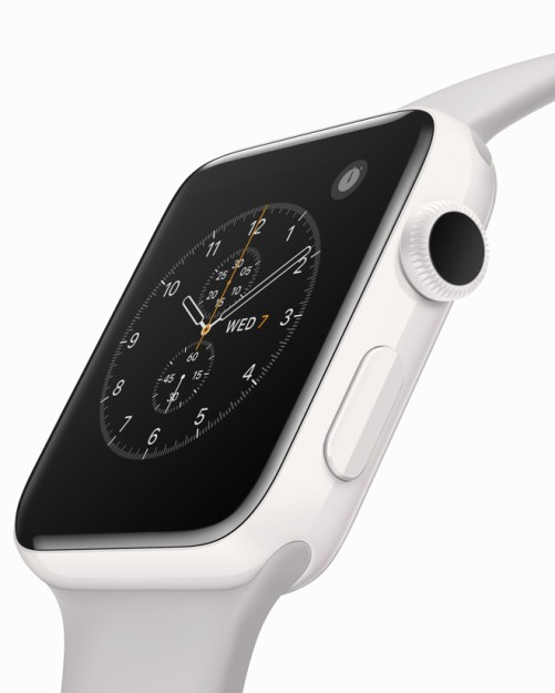 The Apple Watch Edition.