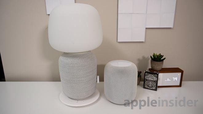 Apple Homepod Versus Sonos Ikea Symfonisk Smart Speakers