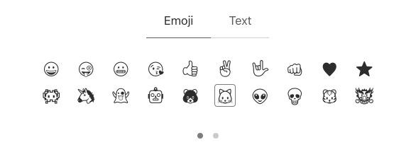 choix emoji