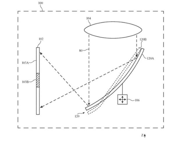 Detalle de una patente que muestra el diseño de auriculares ajustables