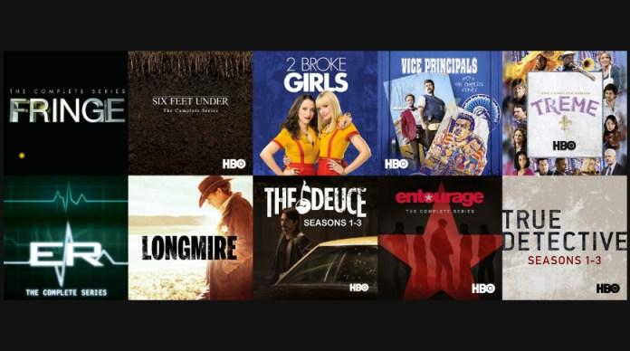 TV show bundle discounts