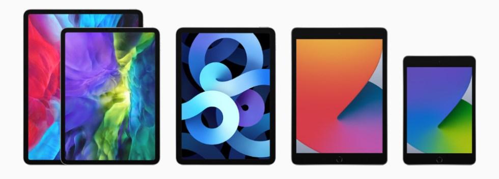 Apple's iPad lineup
