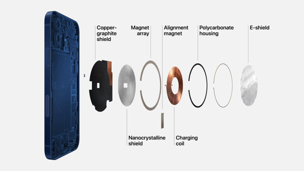 The iPhone 12 is the first iPhone equipped with Apple's MagSafe charging and accessory system