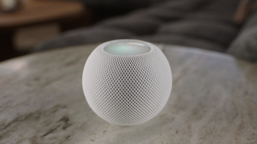 Apple's HomePod mini —  big sound in a tiny package