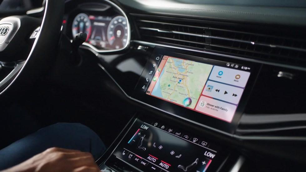Apple's Intercom feature working alongside CarPlay
