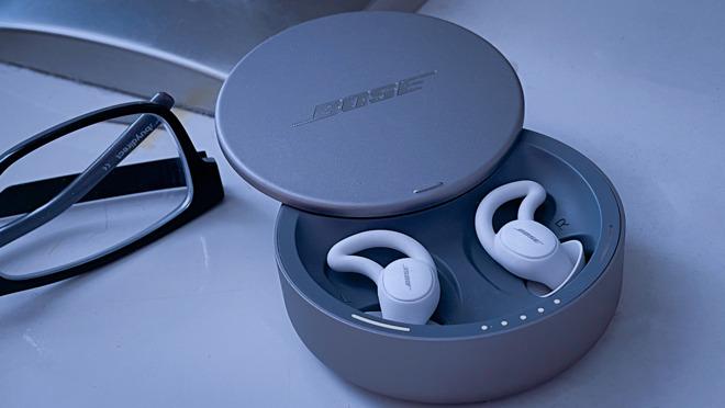 Bose Sleepbuds II in the charging case