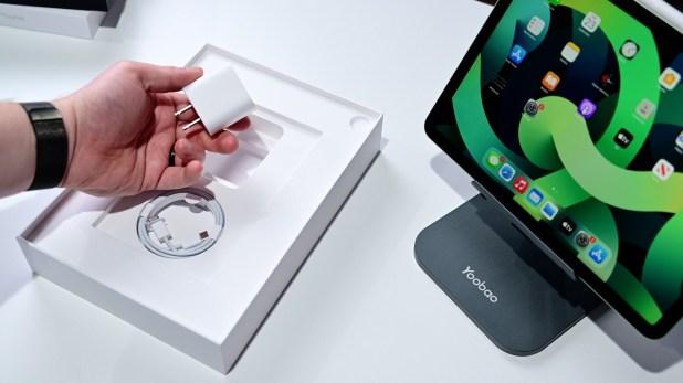 20W USB-C adapter in box