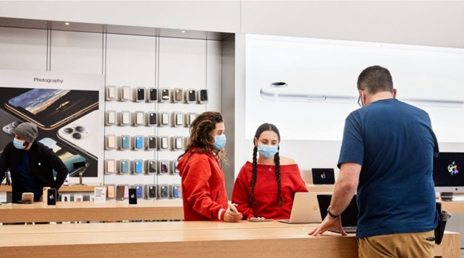 You can still buy iPhones at an Apple Store, but mail-order deliveries may be a better bet under the current climate.