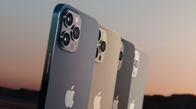 The iPhone 12 Pro Max color range