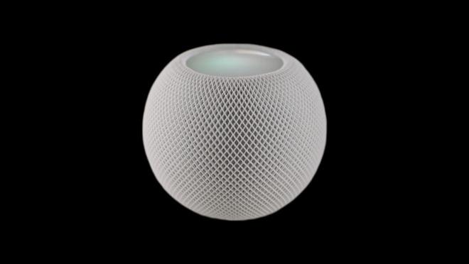 The HomePod mini