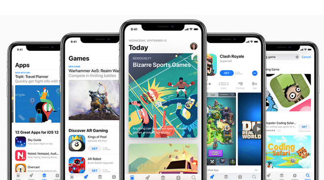 The App Store has millions of apps from countless developers