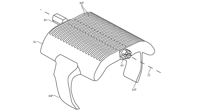 While the proposals could be used for any kind of hinge, many drawings show what appear to be smart rings