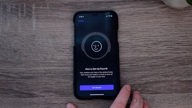 Face ID is a convenient way to access your encrypted iPhone