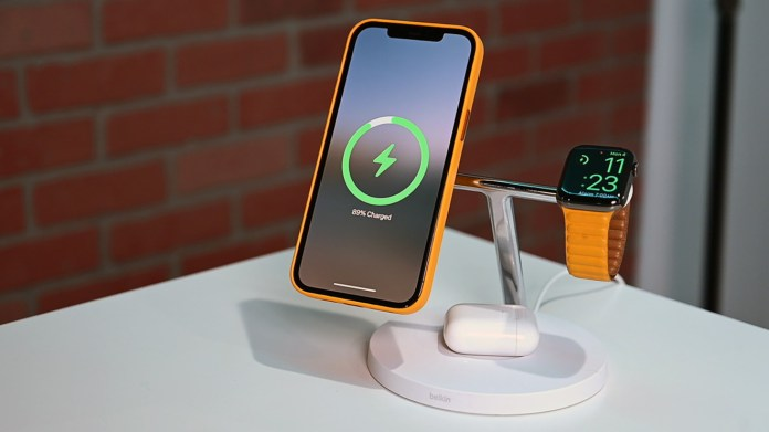 Belkin's Boost Charge Pro is a 3-in-1 charging station with MagSafe