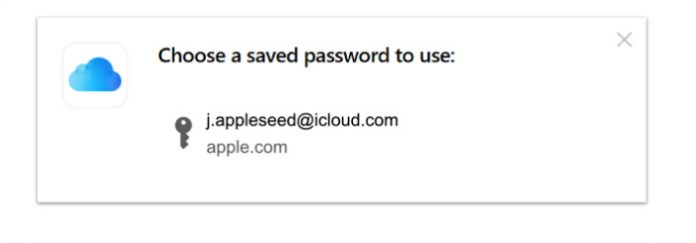 Once installed, Windows users will see an iCloud-like password prompt