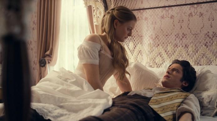 Anna Baryshnikov and Pico Alexander in season two of