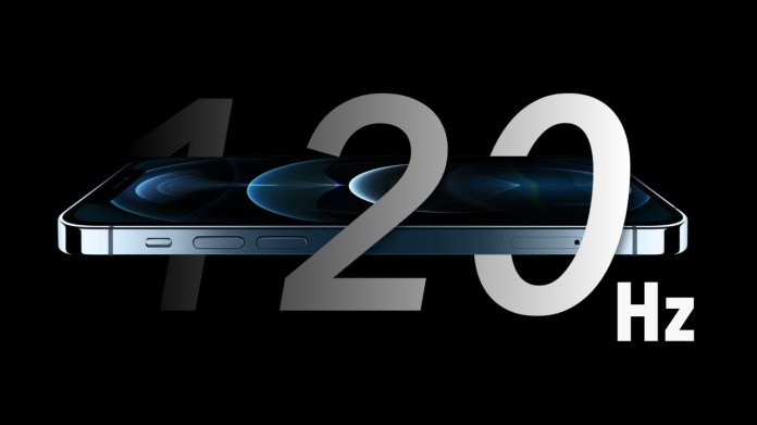 120Hz ProMotion could be introduced in the 2022 iPhone