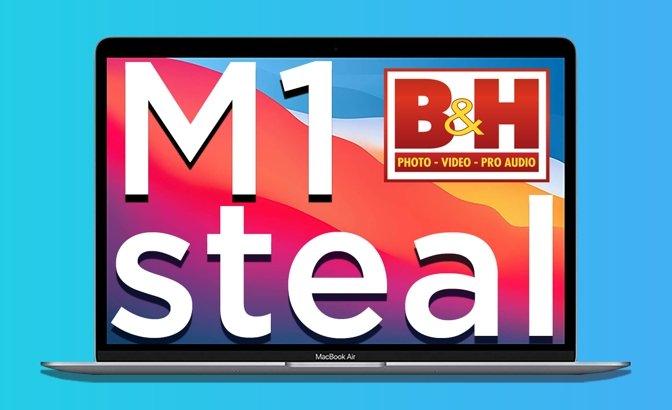 Apple M1 MacBook Air deal at BH Photo