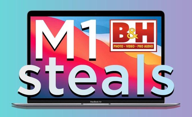 Apple M1 MacBook Air deals at B&H Photo