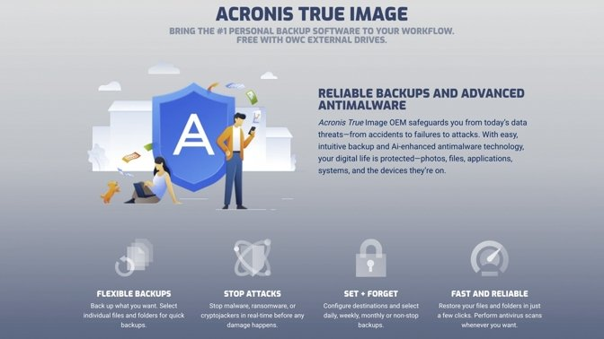 OWC partners with Acronis to protect your backups from ransomware attacks