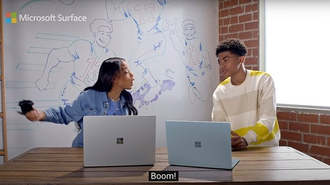 Microsoft's ad uses well-trodden talking points to