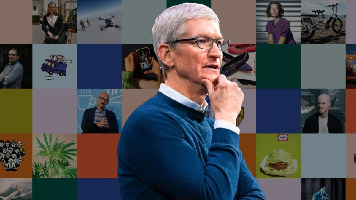 Tim Cook is praised by Time magazine