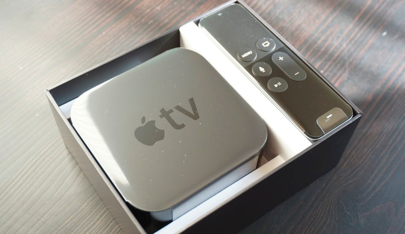 The first release of the Siri Remote with the first fourth-generation Apple TV