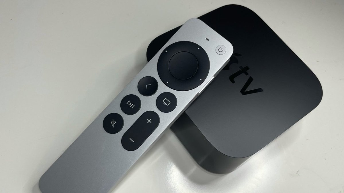 Apple TV 4K with new Siri Remote