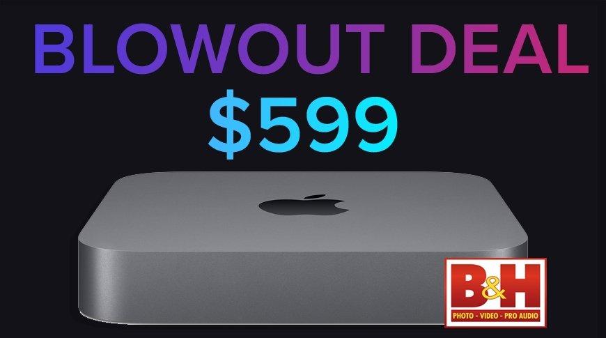 Intel Mac mini $599 blowout deal
